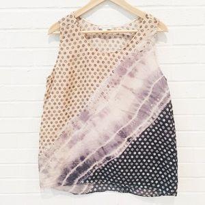 Garnet Hill Silk Blouse 14